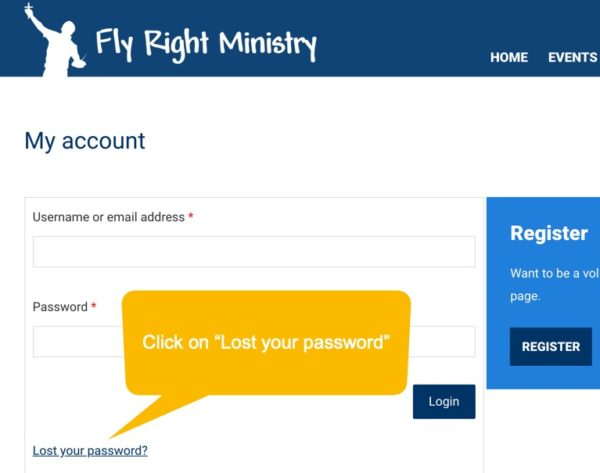 flyright account update directions 14