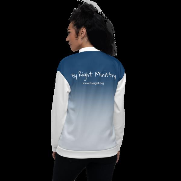 all over print unisex bomber jacket white back 60cadced30e62