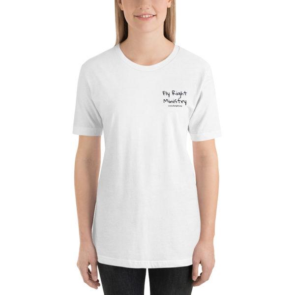 unisex premium t shirt white front 60caddd4cf525