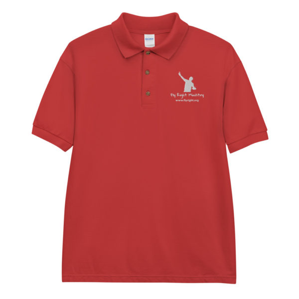 classic polo shirt red front 60f665fd3dae8