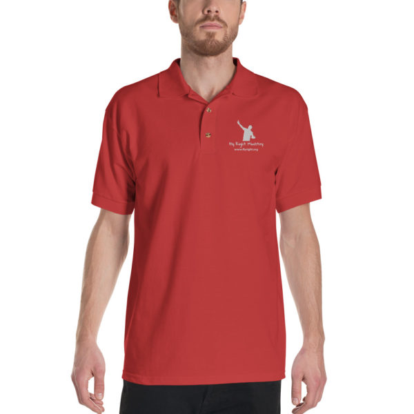 classic polo shirt red front 60f665fd3dc21
