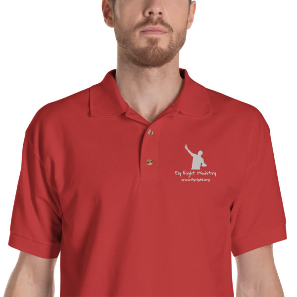 classic polo shirt red zoomed in 60f665fd3dbd7