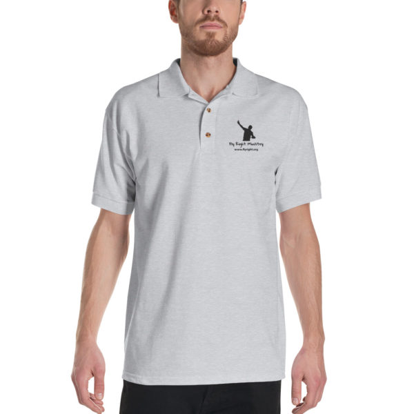 classic polo shirt sport grey front 60f66734a66f9