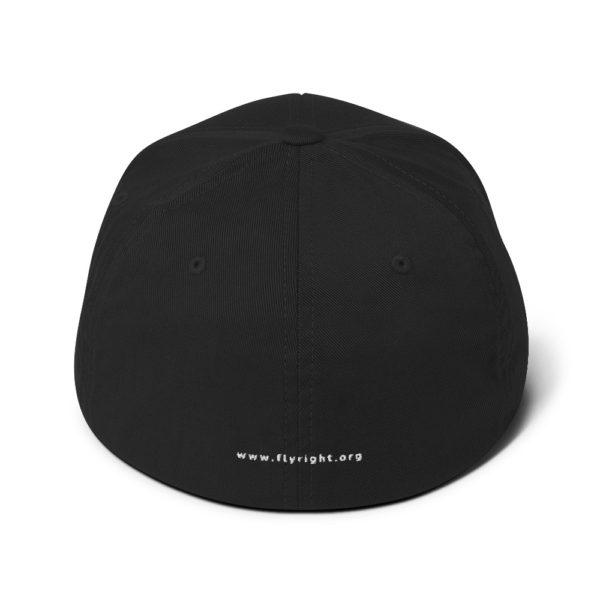 closed back structured cap black back 60f66306bdc29