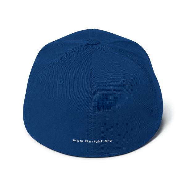 closed back structured cap royal blue back 60f66306bddaa