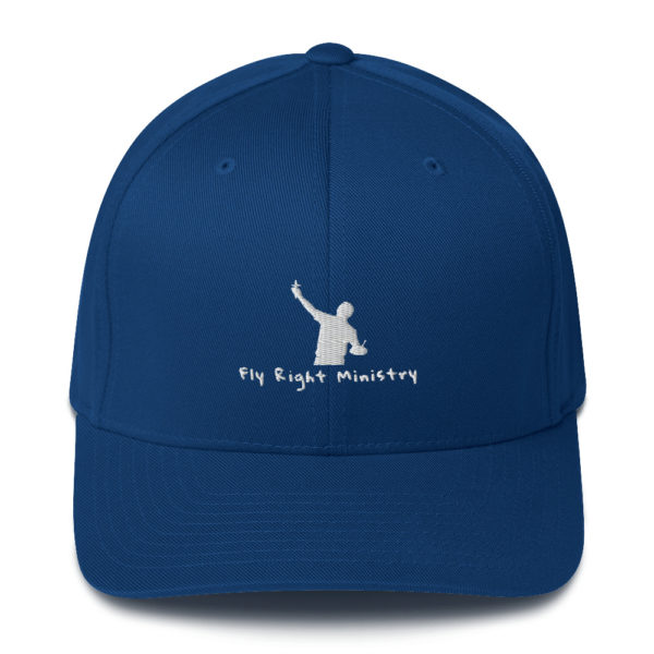 closed back structured cap royal blue front 60f66306bdcdf